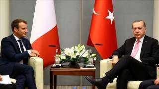 عاجل.. تفاصيل الاتصال الهاتفي بين أردوغان وماكرون