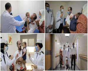 وزير الداخلية يوجه بتقديم الرعاية الطبية لطفلة ووالدها بمستشفى الشرطة