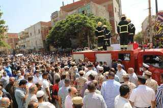 بالصور : الجنازة العسكرية لشهيد سجن طره الرائد محمد عفت القاضى