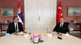 عاجل.. تفاصيل لقاء أردوغان ونظيره الصربي بإسطنبول