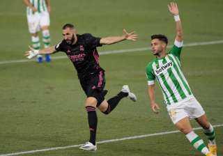ريال مدريد يهزم بيتيس بثلاثية في مباراة مثيرة بالليجا