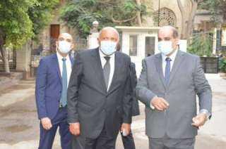 شكرى يفتتح المقر الجديد لمركز القاهرة لتسوية النزاعات