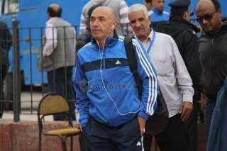 باتشيكو يصل ستاد القاهرة لحضور مباراة الزمالك والجونة