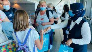 مطار شرم الشيخ يستقبل أولى رحلات مولدوفا عقب استئناف الحركة الجوية