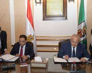 جامعة القاهرة توقع عقد مدير مشروع تطوير مستشفيات قصر العيني