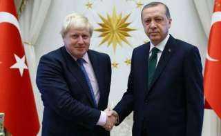 عاجل.. إنذار شديد اللهجة من جونسون لـ «أردوغان»
