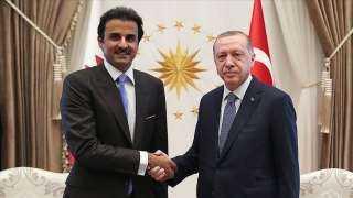 عاجل وخطير.. تفاصيل الاتصال الهاتفي بين أردوغان وتميم