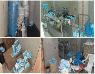 بالصور .. ضبط مصنع غير مرخص لتصنيع الكمامات الطبية المضروبة بالإسكندرية