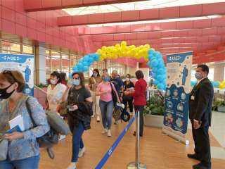 """مطار شرم الشيخ يستقبل أولى رحلات شركة """"إير أستانا"""" من كازاخستان"""