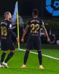 برشلونة يسحق سيلتا فيجو بثلاثية في الدوري الإسباني