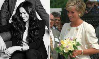 «السر مع حماتها».. سر ارتداء ميجان ماركل لمجوهرات الأميرةديانا