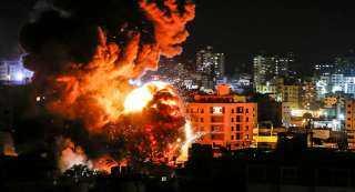 عاجل ..غارات جوية إسرائيلية تستهدف مواقع لـ «حماس» في غزة