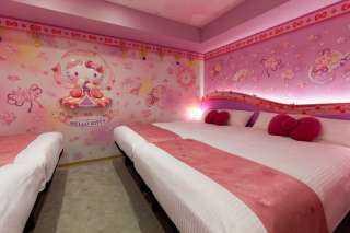 لمحبوالراحة.. فندق يحول غرفه لأشهر شخصية كرتونية في اليابان
