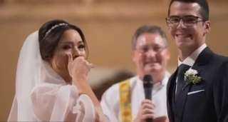 تريند السوشيال ميديا.. بكاء عروس تنهارلحظة عقد قرانها ..فما هو السر؟
