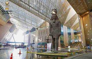 """""""الأعلى للآثار"""": انتهينا من 97% من الأعمال الإنشائية للمتحف الكبير"""