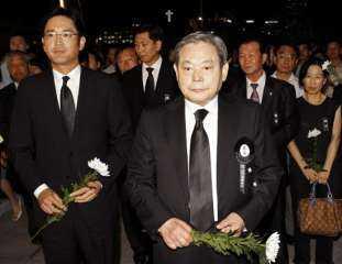 وفاة رئيس شركة سامسونج عن عمر 78 عاما