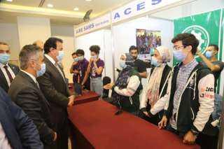 وزير التعليم العالي يشهد احتفال مؤسسة شباب القادة بإطلاق منصة الأنشطة الطلابية