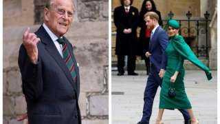 مستنكرًا السلوك الغريب لحفيده.. لماذا قرر الأمير فيليب التخلي عن «هارى وميجان ماركل»؟