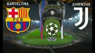 (بث مباشر) مشاهدة مباراة برشلونة ويوفنتوس في بث مباشر على قناة بي ان سبورتس barcelona vs juventus بتعليق عصام الشوالي في دوري أبطال أوروبا