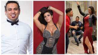 """بالفيديو.. نجوم الأغنية الشعبية يخطفون """"الترند"""" بالرقص مع  الراقصة البرازيلية لوردينا"""