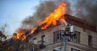 السيطرة على حريق بشقه سكنية بمنطقة عين شمس