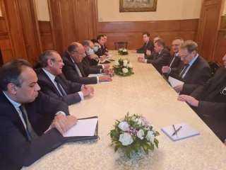 شكري يبحث مع نائب وزير خارجية روسيا تطورات الأوضاع بالمنطقة