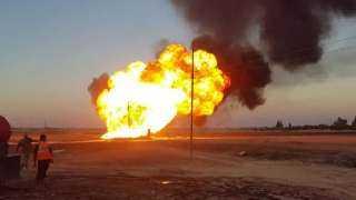 مقتل اثنين وإصابة 51 آخرين في انفجار خط أنابيب جنوب العراق