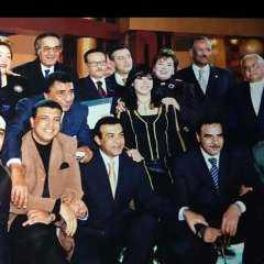 """مع صفوت الشريف.. رانيا محمود ياسين تستعيد ذكريات والدها بصورة نادرة من مسلسل """"العصيان"""""""