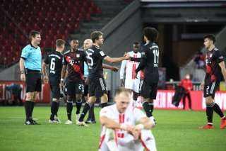 بايرن ينتزع صدارة الدوري الألماني مؤقتا بانتصار ثمين على كولن (2 – 1)