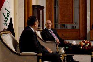 """تفاصيل مباحثات الرئيس العراقى مع """"مدبولى"""""""
