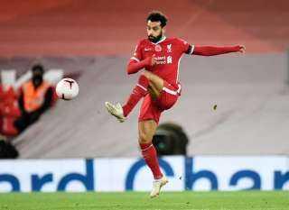 صلاح يسجل ويقود ليفربول للتعادل أمام وست هام بالشوط الأول