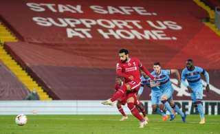 صلاح يقود ليفربول لصدارة الدوري الإنجليزي بالانتصار على وست هام (2 – 1)