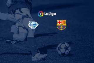 الشوط الأول .. بث مباشر مباراة برشلونة والأفيس