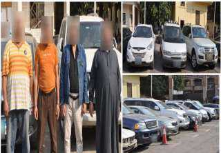 مباحث مرور القاهرة تضبط أخطر عصابة لجلب السيارات المهربة جمركياً