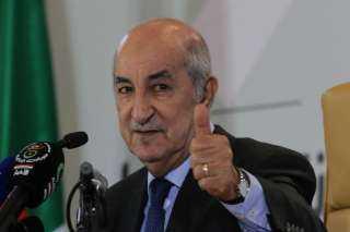 الرئيس الجزائرى يهنئ السيسى بعيد الفطر المبارك