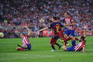 التشكيل الرسمي لمباراة برشلونة واوساسونا