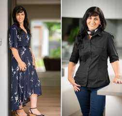 """علي طريقة """"إكس لارج"""".. أم تفاجئ ابنتها في """"فرحها"""" بنزول وزنها من 126 إلي 65 كيلو"""