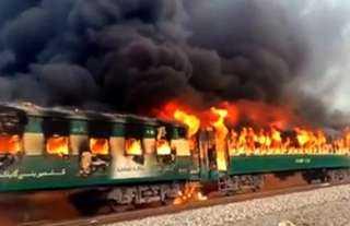 عاجل.. مسلحون يُفجرون خط سكة حديد.. وتوقف حركة القطارات بالكامل