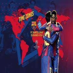 مشاهد مباراة برشلونة ودينامو كييف بث مباشر اليوم الثلاثاء 24 / نوفمبر بطولة دوري أبطال أوروبا
