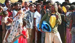 حمدوك يطالب ماكرون وميركل بالتدخل لحل أزمة اللاجئين القادمين من إثيوبيا