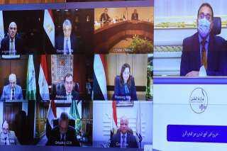 متابعة لتطوير الطريق الدائري حول القاهرة الكبرى