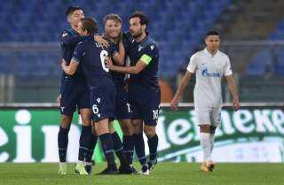 لاتسيو يهزم سان بطرسبرج بثلاثية في دوري أبطال أوروبا