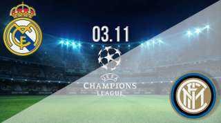 مباراة ريال مدريد وانتر ميلان  25 / 11 / 2020 بدوري أبطال أوروبا
