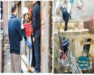 وحدات الإنقاذ بالحماية المدنية بالإسكندرية تنقذ عدد من المواطنين