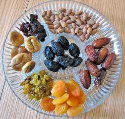 مفاجأة...دراسة تكشف أن الفواكه المجففة لاتقل فائدة عن الطازجة