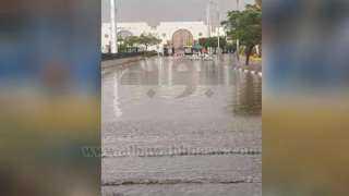 نهائي افريقيا..الأمطار تحاصر استاد القاهرة قبل لقاء الأهلي والزمالك