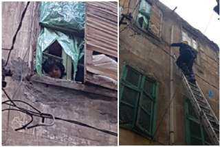 وحدات الإنقاذ بالإسكندرية تواصل جهودها فى إنقاذ المواطنين