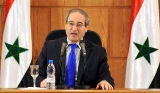 فيصل المقداد يؤدى اليمين الدستورية وزيرًا لخارجية سوريا