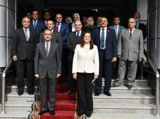 وزيرة التخطيط : «المركزى للإحصاء» دوره وطنى ويدعم خطط الدولة