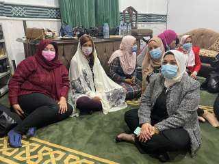 وزيرة الهجرة تشهد خطبة الجمعة بمسجد الرحمة برأس البر